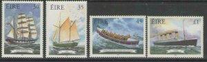 IRELAND SG1219/22 1999 MARINETIME HERITAGE MNH