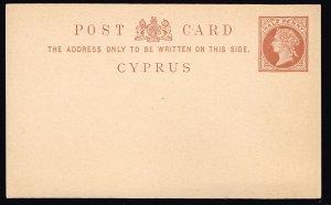 UK STAMP CYPRUS POST CARD UNUSED