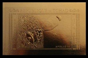 1971 Chad 387bgold Apollo 11 - 14 40,00 €