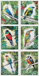 Curacao 2020 South American Birds 6v MNH