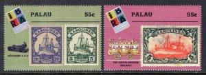 Palau 498-499 MNH VF