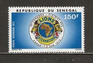 Senegal Scott catalog # C121 Mint NH