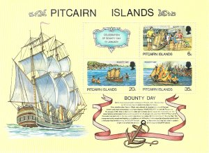 Pitcairn Island 176   SS   Mint NH VF 1978    PD