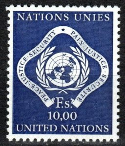 United Nations Geneva #14 MNH CV $3.50 (X7463)