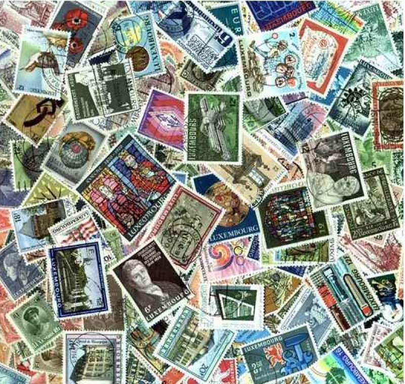 Luxembourg Stamp Collection  - 500 Different Stamps