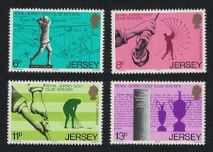 Jersey Centenary of Royal Jersey Golf Club 4v SG#183-186
