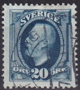 Sweden #75  F-VF Used  CV $15.00  (Z5054)
