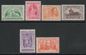 Nuova Zelanda, Sc 165-170 ( Sg 453-458), Mlh