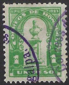 HONDURAS 217 USED SCV $2.75 BIN $1.10 MONUMENT