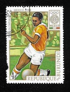 Burundi #260  Mexico Olympics  Used hinged