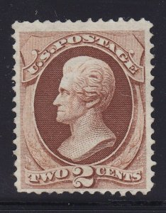 135 VF unused ( mint no gum ) nice color cv $ 360 ! see pic !