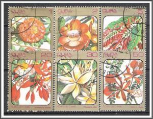 Caribbean #2687-2692 Flowers CTO