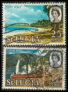 St. Lucia 189191 Used VF
