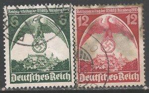 GERMANY 465-66 VFU R197-2