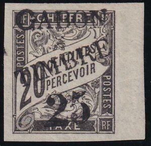 Gabon 1889 SC 13 Mint Signed ROUMET