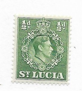 St. Lucia #110a MH - Stamp - CAT VALUE $1.40
