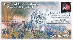 2014 Battle of Blandensburg, War of 1812, Pictorial Postmark , Item 14-136
