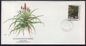 Seychelles Zil Elwannyen Sesel 188 Flower Fleetwood U/A FDC