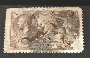 Great Britain 1913 #173, Used W/Faults, CV$180.00