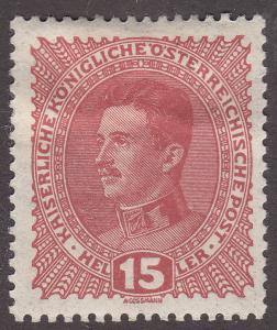 Austria 168 Emperor Karl I 1917