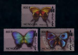 [78578] Mongolia 2003 Insects Butterflies From Set MNH