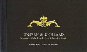 2001 -  GB  - DX27 - UNSEEN & UNHEARD - PRESTIGE BOOK   -   SUBMARINES