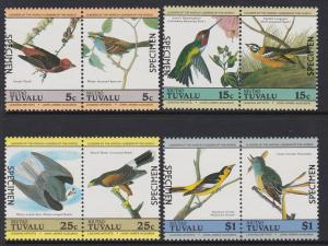 Tuvalu Niutao 1985 Birds Specimen MNH