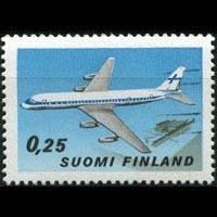 FINLAND 1969 - Scott# 489 Plane Set of 1 LH