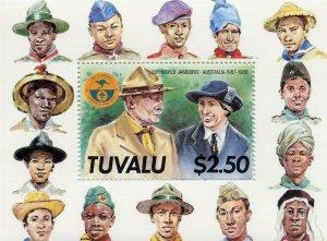 1987 Tuvalu World Boy Scout Jamboree SS Baden Powell