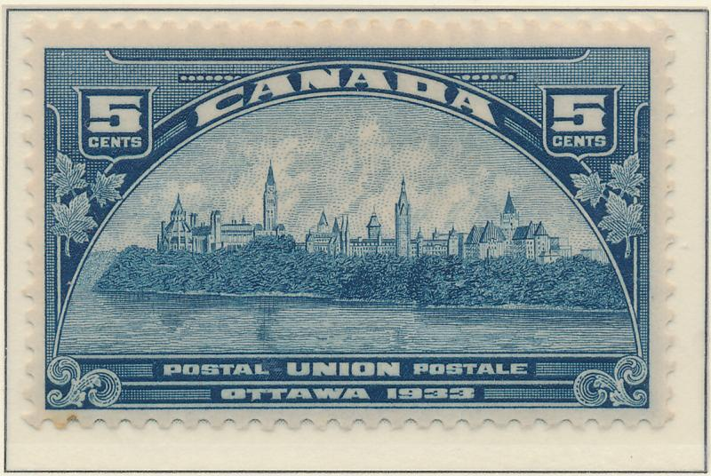 Canada Stamp Scott #202, Mint, Partial Gum - Free U.S. Shipping, Free Worldwi...