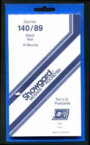 Showgard BLACK Mounts Size 140/89