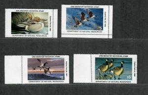 Iowa Sc#23-6 M/NH/VF, State Duck Stamps, Cv. $40