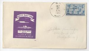 Naval Cover 1946 Navy Day USS Frank Knox DD-742