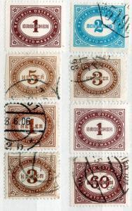 (I.B) Austria Postal : Postage Dues Collection