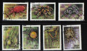 Tanzania 1994 cancelled   arachnids complete