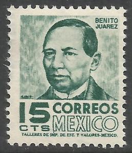 MEXICO 877 MOG Z3004-2