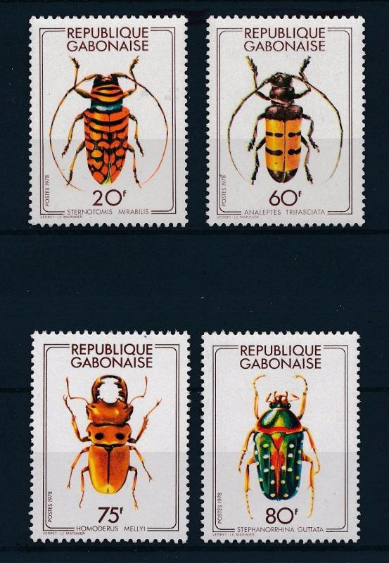 [30392] Gabon 1978 Insects Insekten Insectes  MNH