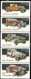 US - 2385a - MNH - Booklet Pane of 5 - SCV-3.75