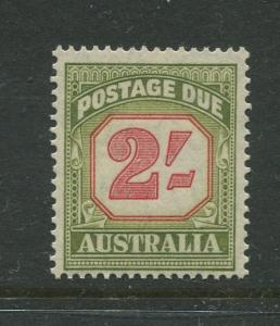 Australia - Scott J82 - Postage Due Issue -1953- Wmk 228 - MNH -Single 2/- stamp