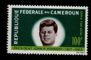Cameroun Scott C52  MNH* 1964 JFK stamp
