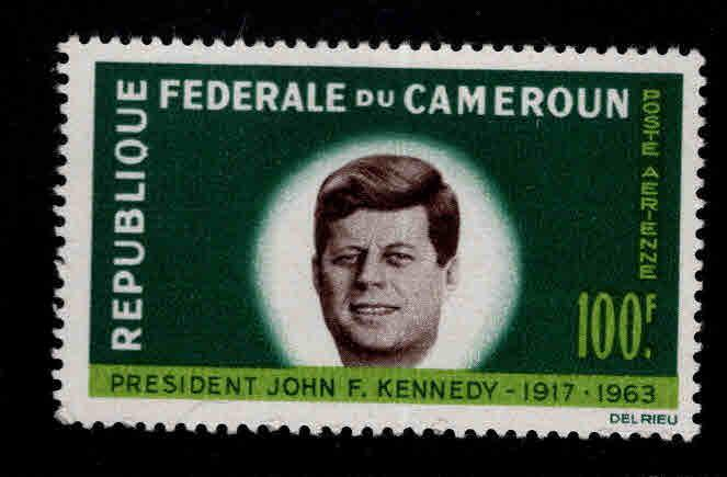 Cameroun Scott C52  MNH* 1964 JFK stamp