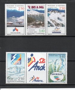 Andorra - French 423-424 MNH
