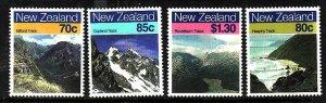 New Zealand-Sc#903-6-unused NH set-Landscapes-1988-id2-