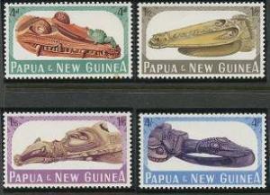 Papua New Guinea 199-202 MNH (1965)