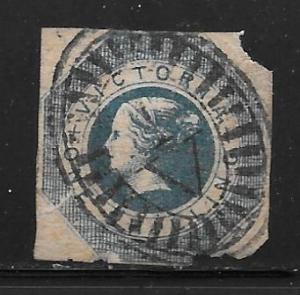 Australian States Victoria 18: 1/- Queen Victoria, used, F