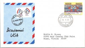 Netherlands, Worldwide First Day Cover, Americana