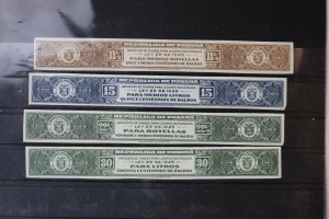Panama 1925 Liquor tax imperf proof American Banknote archives Quayle bottle DL