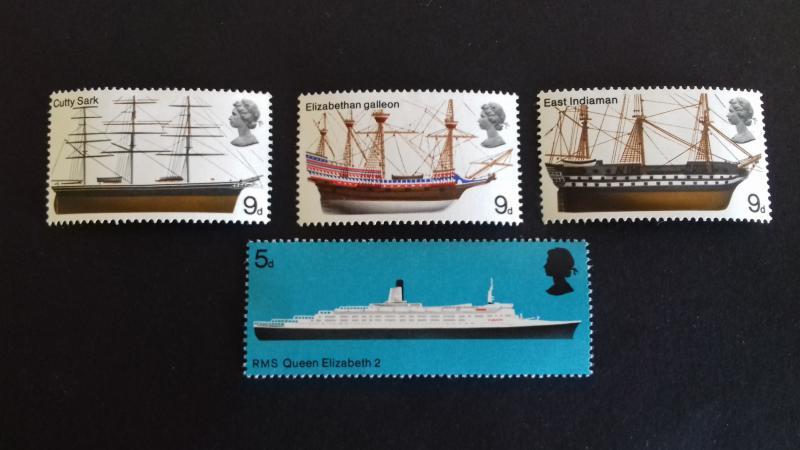 Great Britain 1969 British Seamen and Shipbuilders Mint