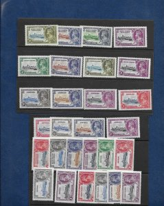 1935 SILVER JUBILEE-SMALL COLLECTION -MINT
