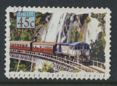 Australia SG 1415  Used  -Trains self adhesive